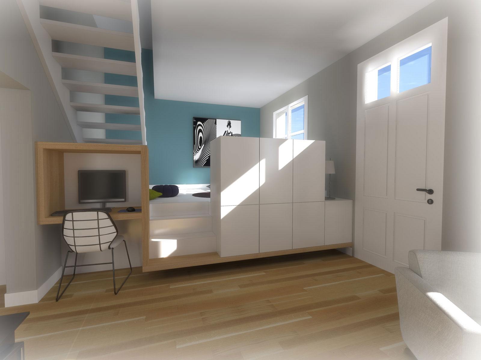 Magnifique Aménagement intérieur CLISSON Bureau - Atelier 14 &JS_31
