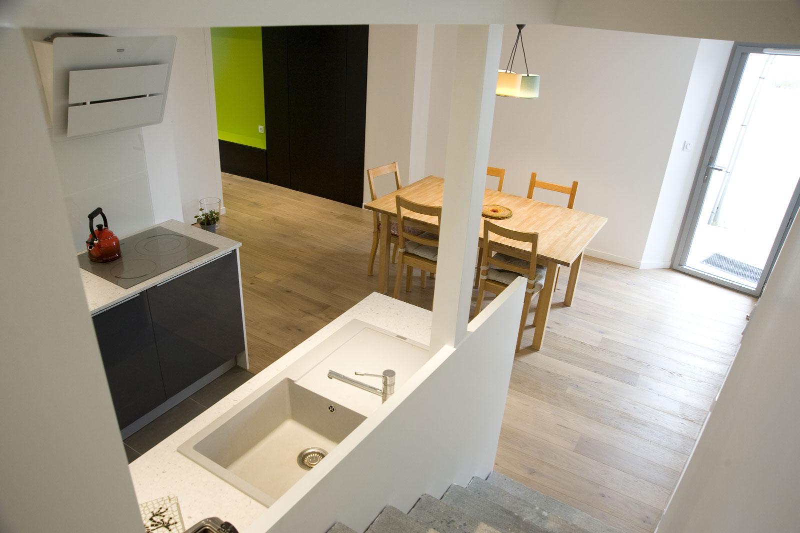 Aménagement intérieur P d\'une maison de ville à Gétigné architecte ...
